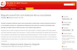 Apteka OTC - zrzut strony